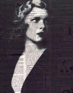woman in print